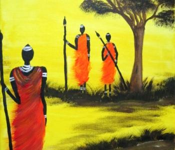 Afrika Massai