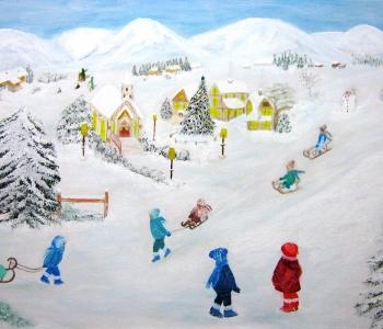 winter-70x50-acryl-auf-leinwand