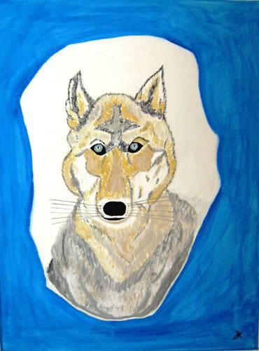 wolf-krafttier