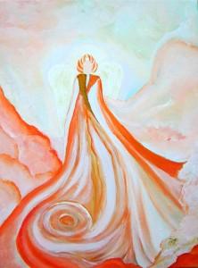 Gemälde Erzengel Uriel