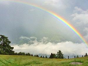 Regenbogen Lichter
